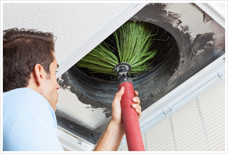 Air Duct Cleaning & Sanitizing